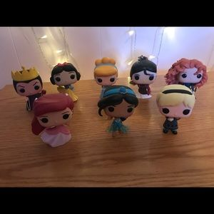 Disney princess assorted Funko pops